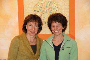 Portrait Dr. oec.troph. Maria Ebert-Joisten und Birgit Hahnemann