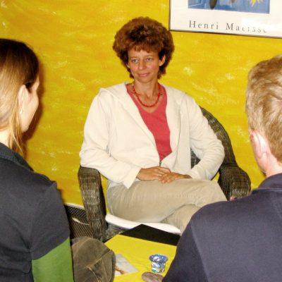 Eltern im Gespräch mit Birgit Hahnemann