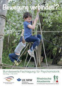 Flyer zur Fachtagung Psychomotorik 2018 Bonn