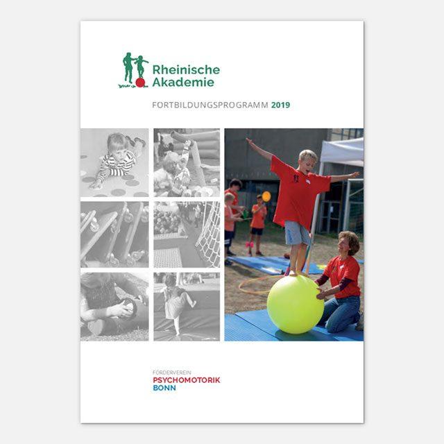 Titelseite Fortbildungsprogramm 2019
