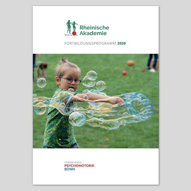 Titelseite Fortbildungsprogramm 2020