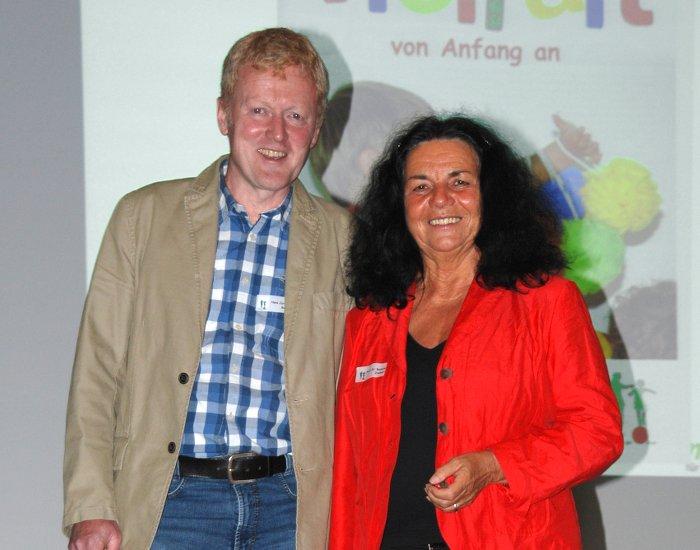 Hans Beins und Dr. Renate Zimmer