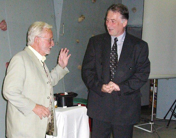 Rudolf Lensing-Conrady und Ernst Jonny Kiphard