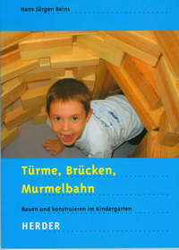 Buchtitel: Türme, Brücken, Murmelbahn Hans Beins