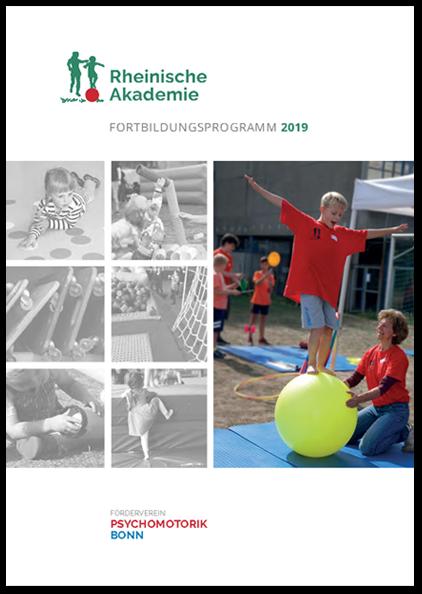 Fortbildungsprogramm 2019 - Rheinische Akademie für Psychomotorik