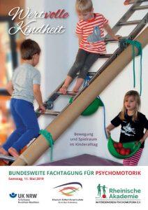 Fachtagung Psychomotorik 2019 Flyer Titelbild Rheinische Akademie