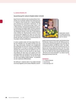 E. J. Kiphard Medaille 2017 - Auszeichnung für Lektorin Brigitte Balke-Schmidt - Rudolf Lensing-Conrady