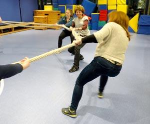 Teamfortbildung - Teambuilding im Förderzentrum E.J. Kiphard