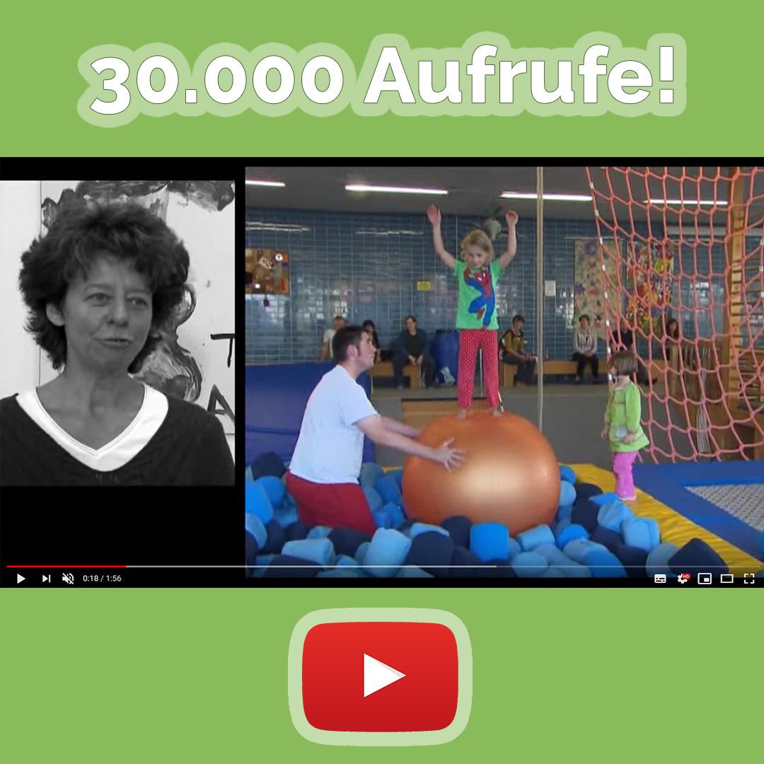 30.000 Aufrufe bei YouTube