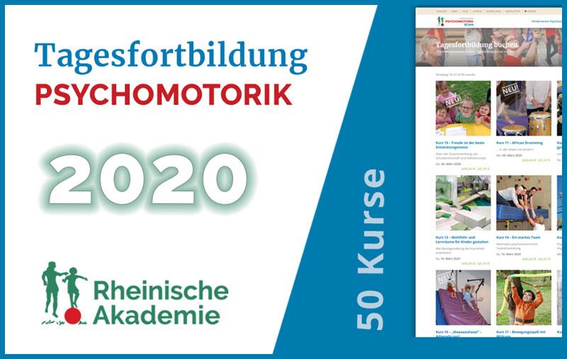 Psychomotorik Tagesfortbildung en 2020 - Alle 50 Kurse