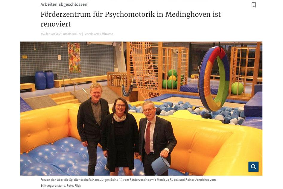 Renovierung Förderzentrum Psychomotorik