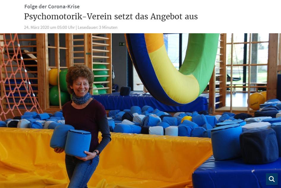 Birgit Hahnemann im Förderzentrum E.J. Kiphard
