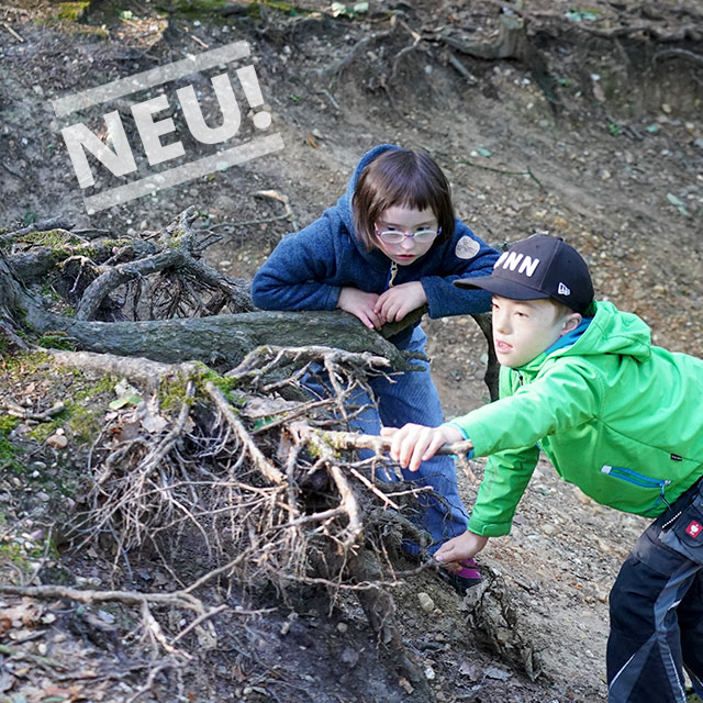 Kinder in der Natur